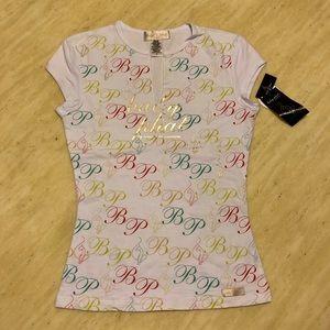 New Baby phat Logo Printed T-shirt Size M